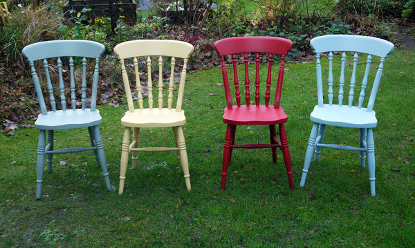 Custom Listing for Jonathan 4 mismatched vintage dining chairs