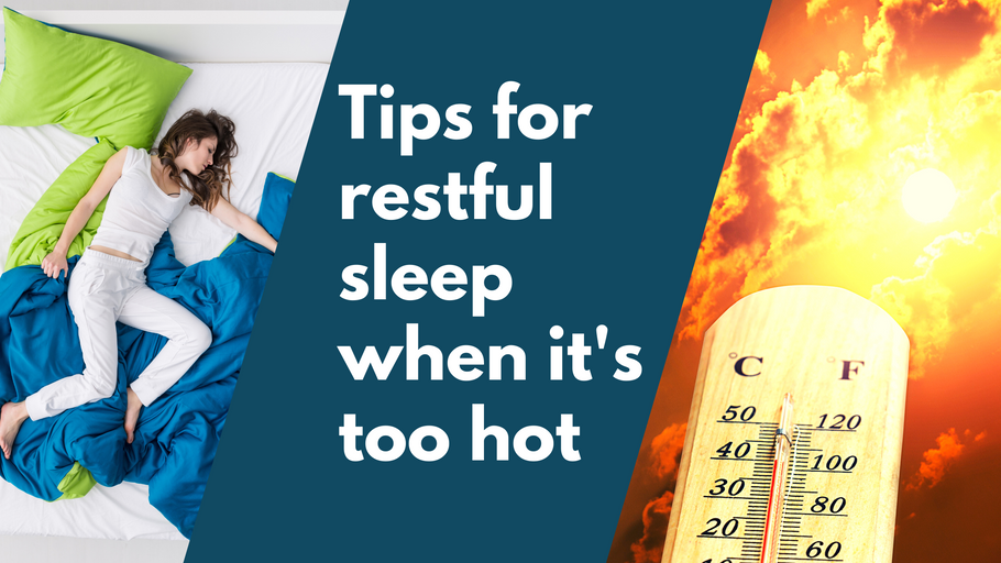 13 Sleep Tips For When It's Too Bloody Hot