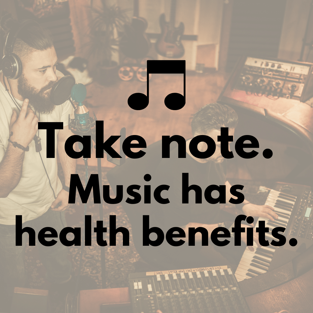 Does music have health benefits