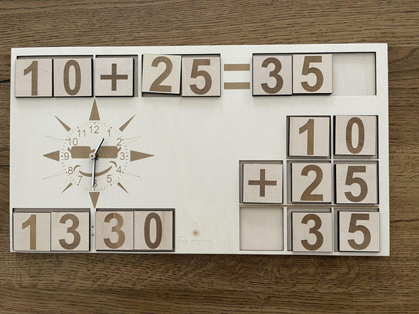 Maths and Time board set