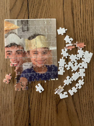 Personalised Puzzle - with photo or picture - Tiny Memories Laser