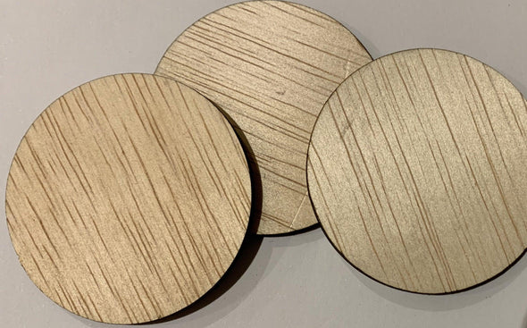 Blank wooden shapes(circle/rectangle/square) - Albasia plywood