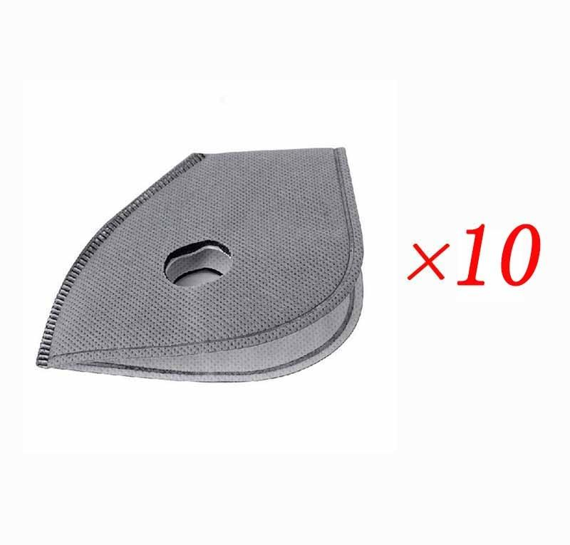 Pack 10 Pieces Carbon Mask Filter