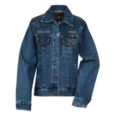 Threads Autographed Denim Jacket - Womens