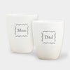 Mum & Dad Egg Cup Set