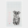 Save Your Dishes Tea Towel