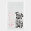 Pugs Tea Towel