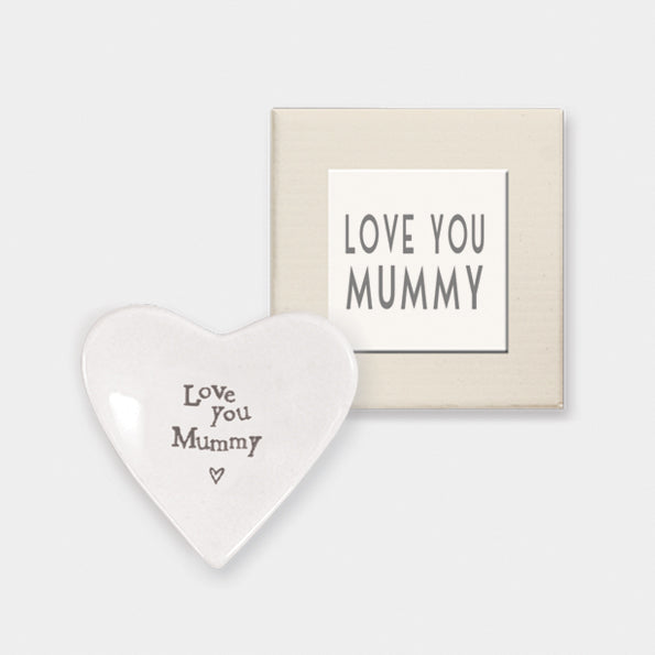 """Love You Mummy"" heart dish"