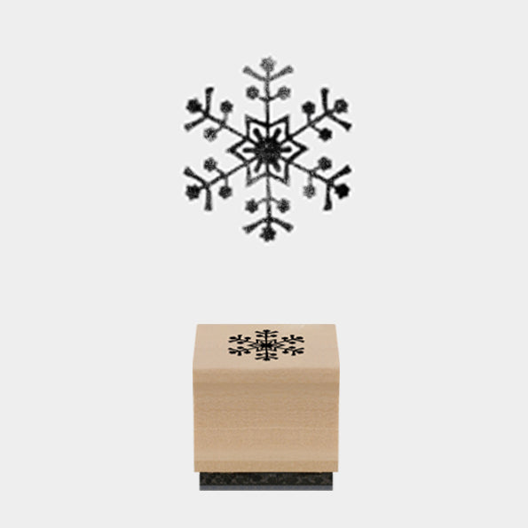 Snowflake Christmas Stamp
