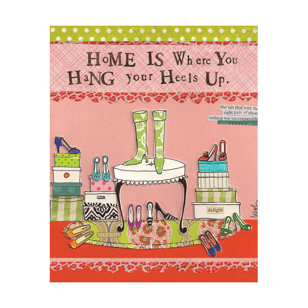 """Home is..."" card"