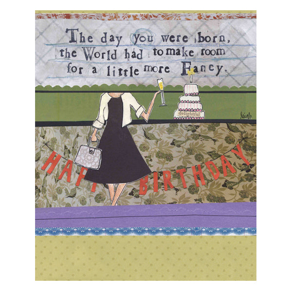 """Day you were born"" card"