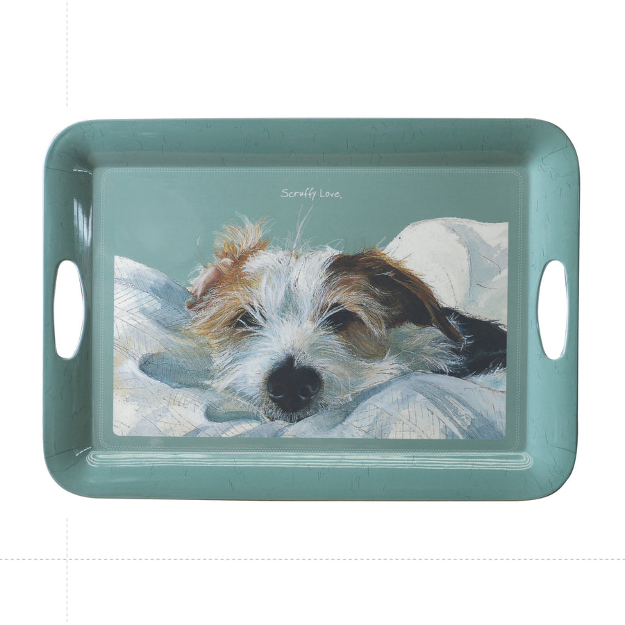 """Scruffy Love"" tray"