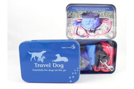 Travel Dog Supplies Tin