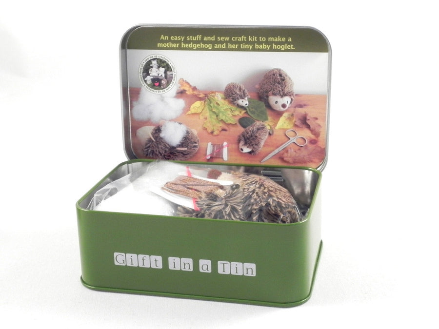 Hedgehog and Hoglet sew me up kit