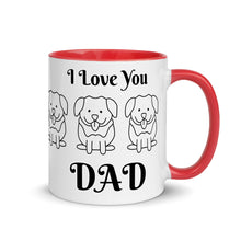 Load image into Gallery viewer, Romptastic I Love You DAD Coffee Mug