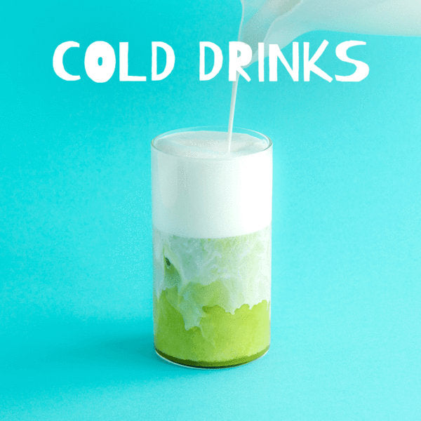 cold drink recipes for matcha green tea