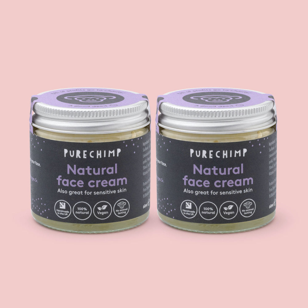 Natural Face Cream - PureChimp Asia