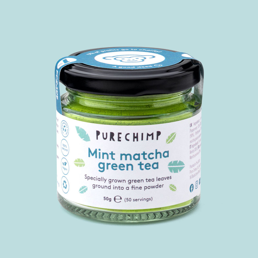 Mint Matcha Green Tea - PureChimp Asia