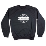 SONORTH Adult Crewneck Sweater - Black