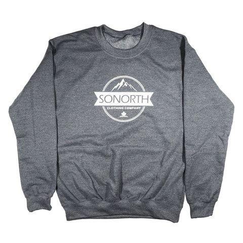SONORTH Adult Crewneck Sweater - Heather Grey