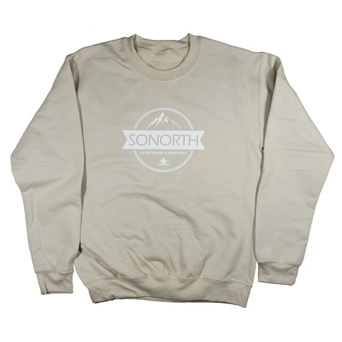 SONORTH Adult Crewneck Sweater - Sand