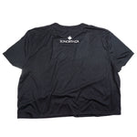 SONORTH Ladies Cropped Tee - Black