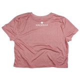 SONORTH Ladies Cropped Tee - Mauve