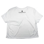 SONORTH Ladies Cropped Tee - White