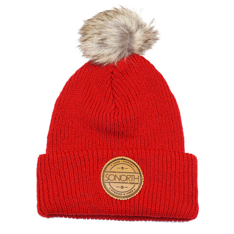 SONORTH Limited Toque - Canadian Red