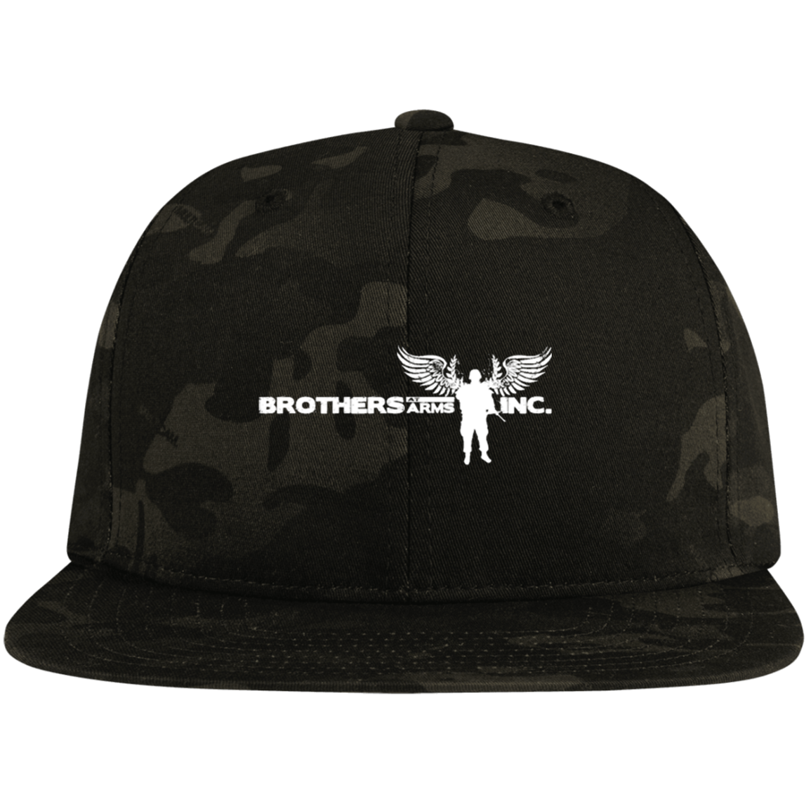 Brothers at Arms - Profile Snapback Hat - Camo