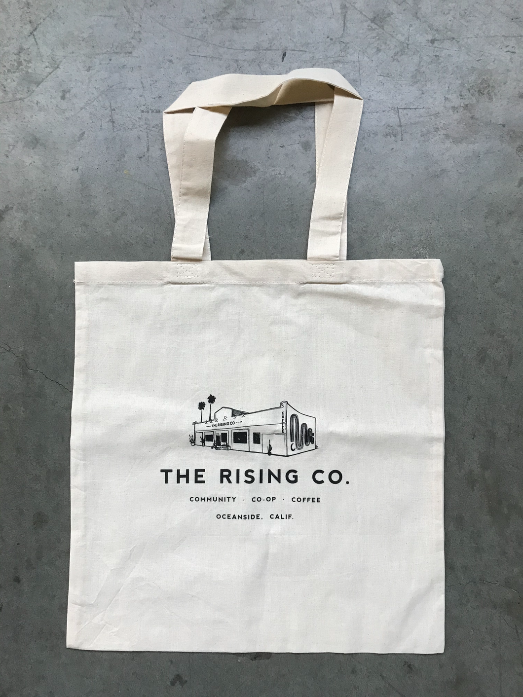 Rising Co Tote Bag