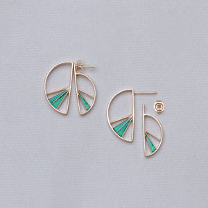 Wedge Split Earrings