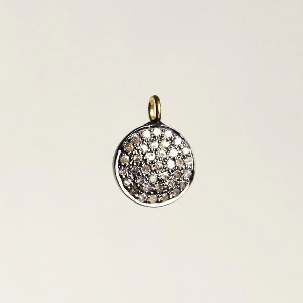felt diamond disc pendant is also sold separately