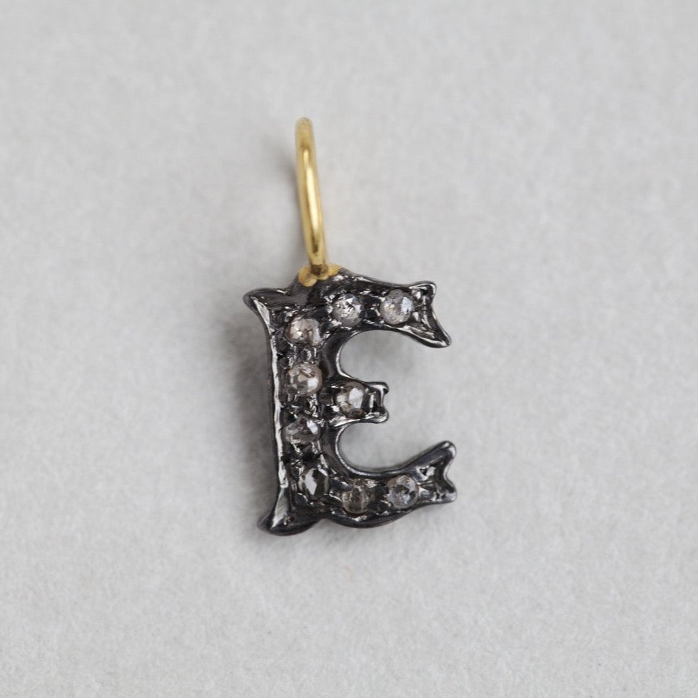 Diamond Letter Charms