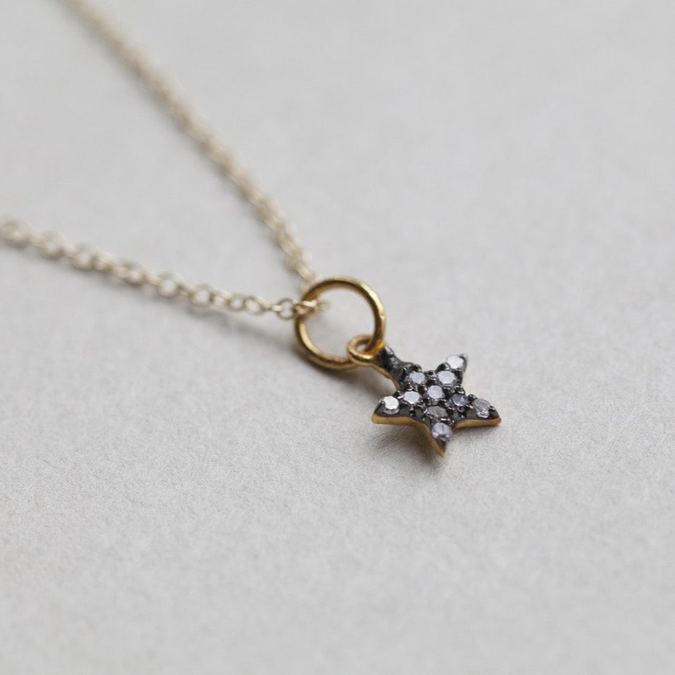 matching star charm or necklace also available at feltlondon.com