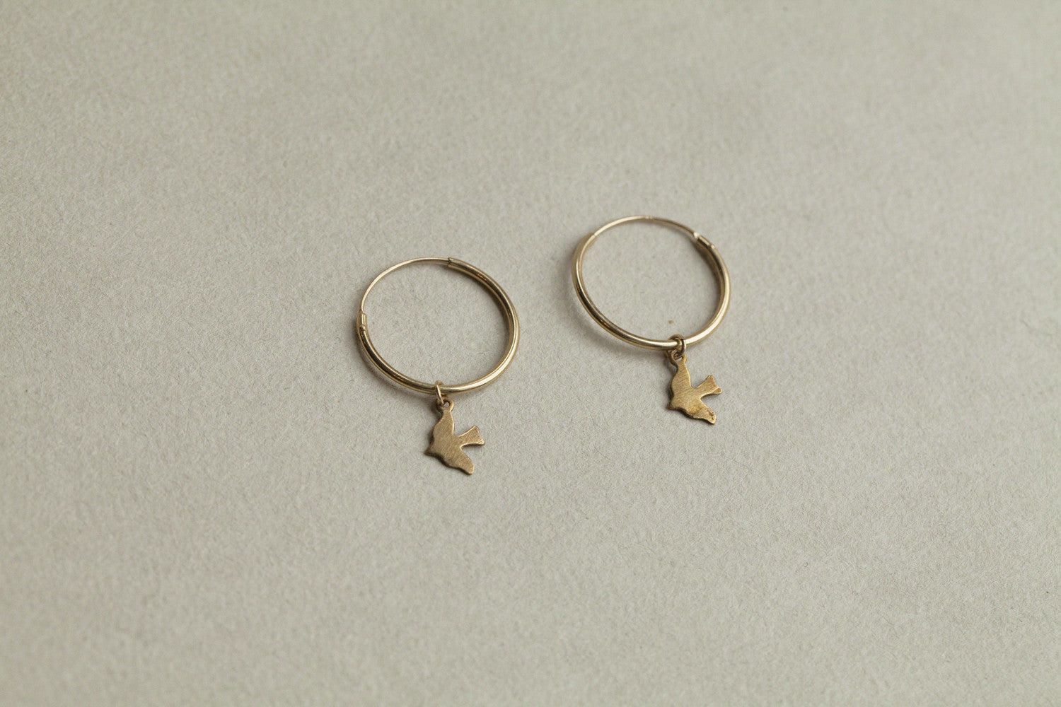 also by Alice Eden - Dickie Bird Range including hoops, bracelet and studs