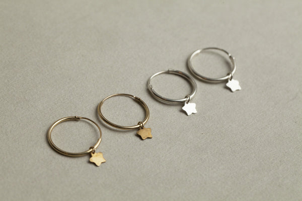 another range from Alice Eden available at felt - Super Star Range including hoops and studs
