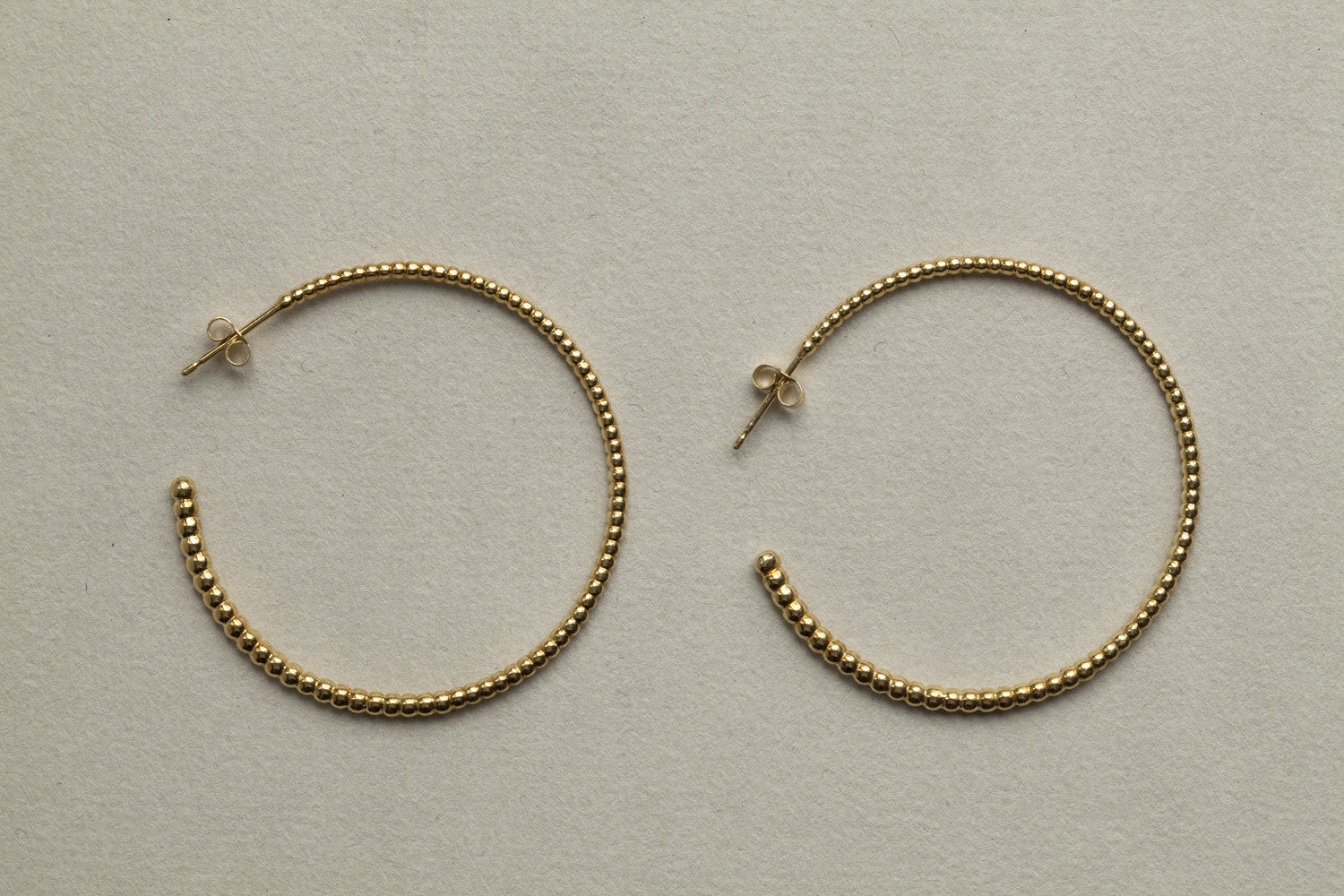 Laura Gravestock's original and best selling large hoops