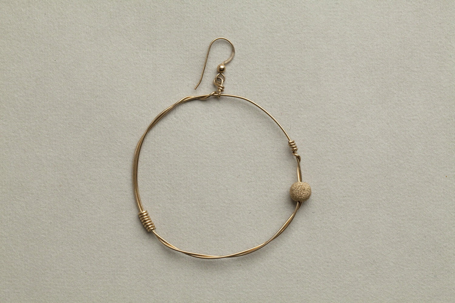 medium wire hoop from Mamacita