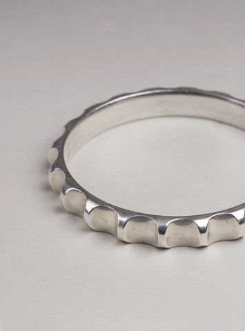 Georg Jensen Sterling Silver Bangle Bracelet Nanna Ditzel #160