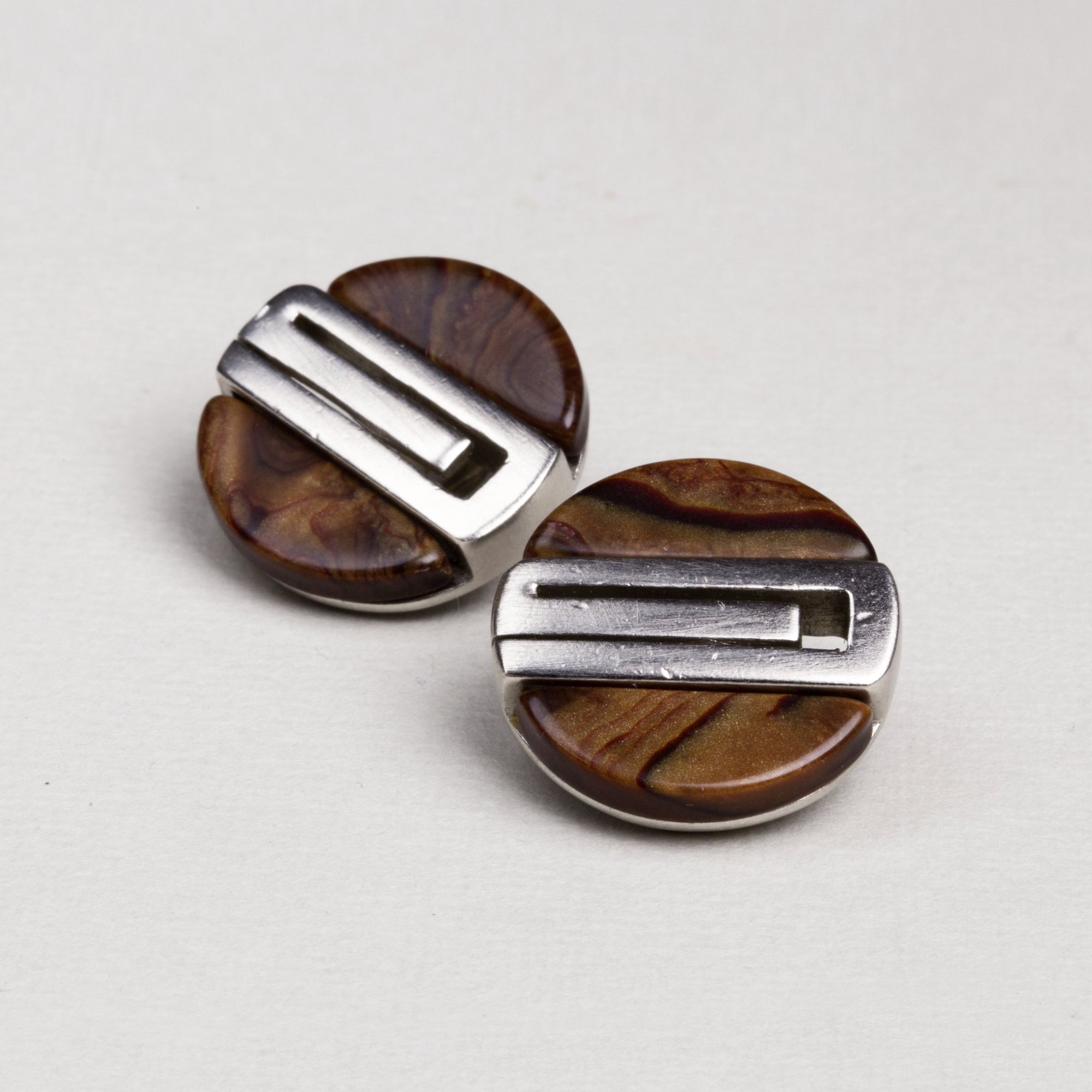 Wood and Metal Clip-ons