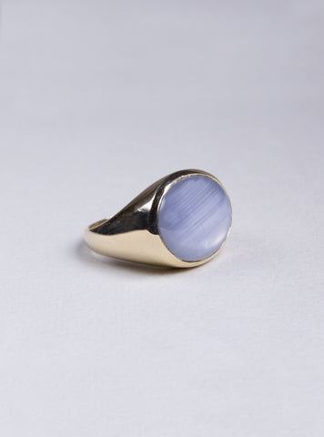 Star Sapphire Gold Ring