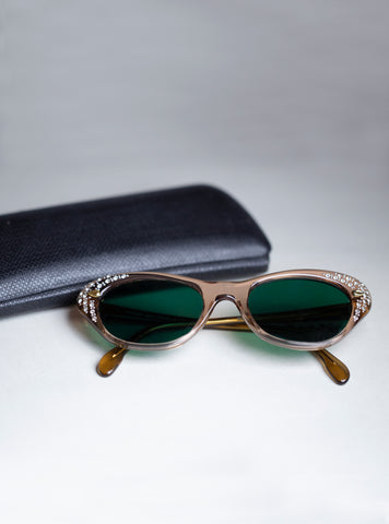 Vintage Sunglasses with Crystals