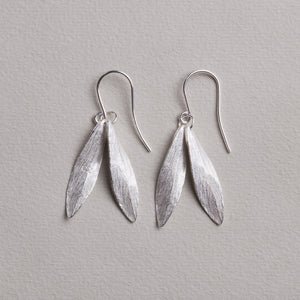 Double Leaf Earrings