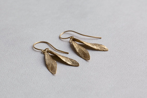 beautifully detailed Catherine Zoraida bestselling leaf earrings