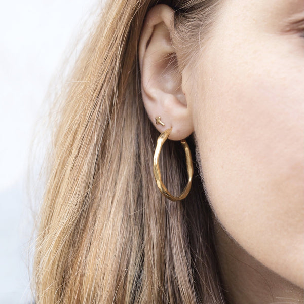 Large Irregular Hoops