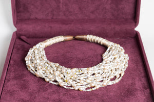 Vintage Pearl and Beads Necklace