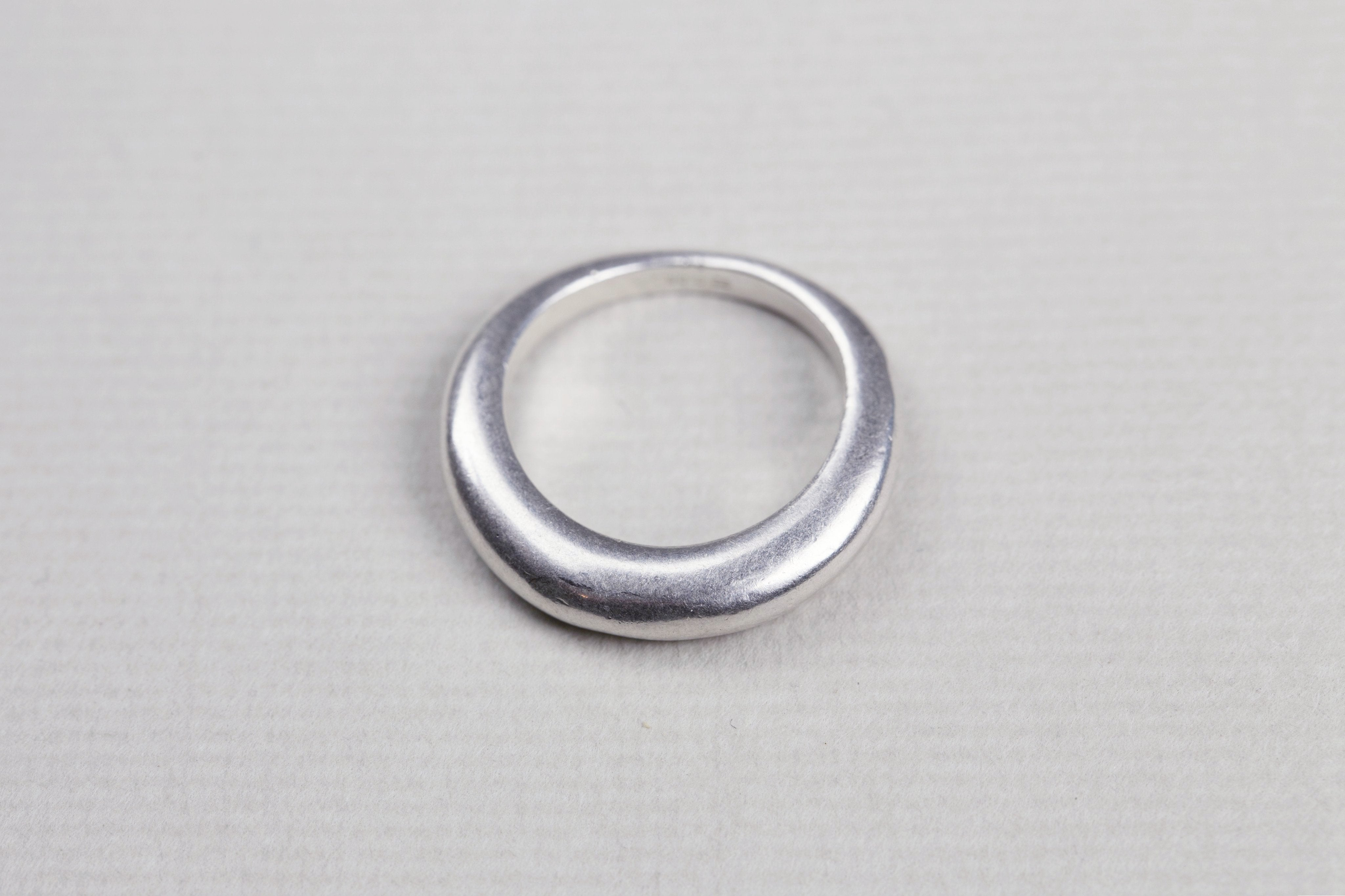 Vintage Chanel Silver Ring
