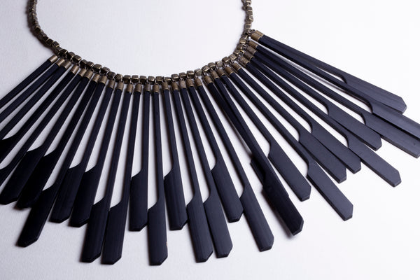 Vintage Ebony Necklace