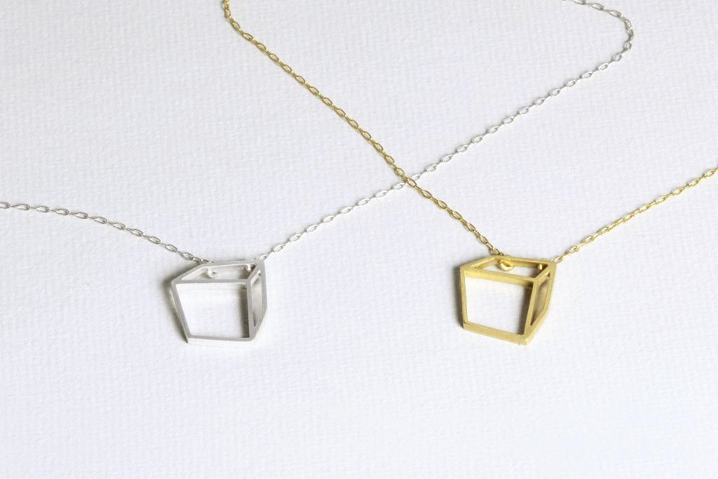 Small Cuboid Necklace